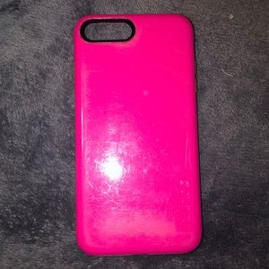 Incipio pink phone case